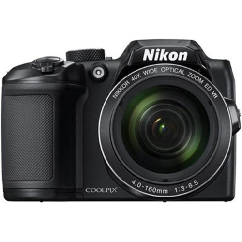 Nikon COOLPIX B500 16MP 40x Optical Zoom Digital Camera w/ Built-in Wi-Fi - Black