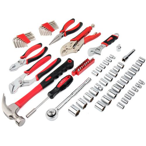 Apollo Precision Tools 80 Piece Mechanics Tool Kit