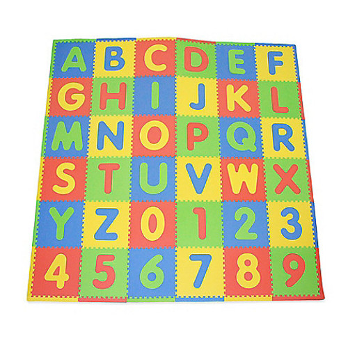 Tadpoles by Sleeping Partners ABC 36-Piece Playmat Set in Primary Multicolor