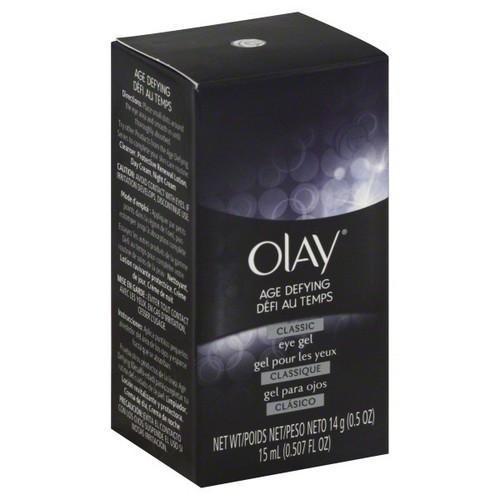 Olay Age Defying Eye Gel, Classic, 0.5 oz (14 g)