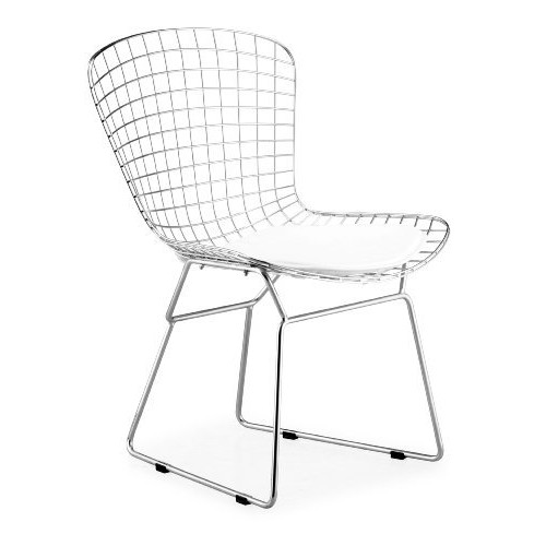 Zuo Wire Dining Chair Chrome (set of 2)