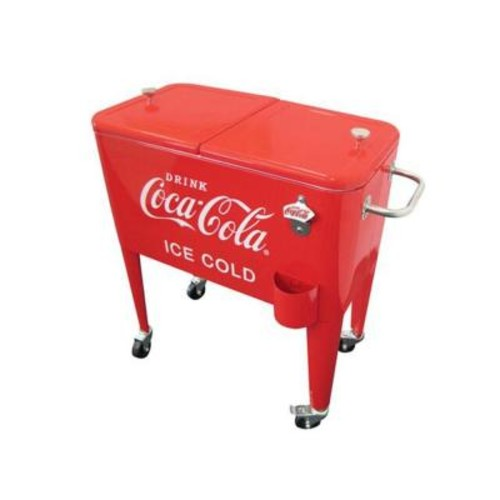 Leigh Country 60 Qt. Ice Cold Red Retro Coca-Cola Cooler