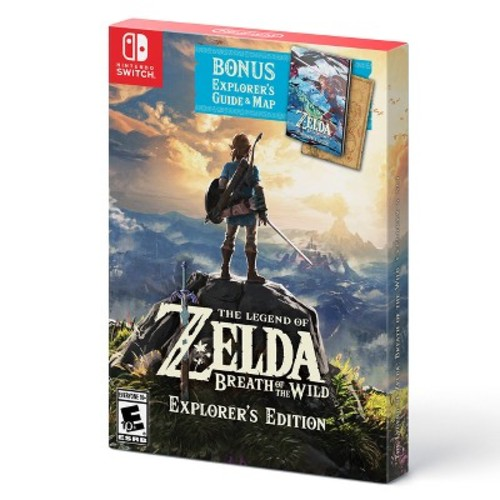 The Legend of Zelda: Breath of the Wild Explorer's Edition - Nintendo Switch