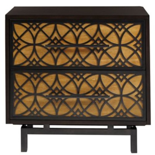 World Menagerie Peterson 2 Drawer Accent Chest