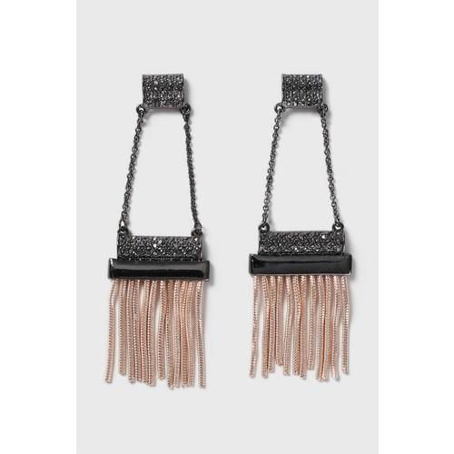 Chain Tassel Drop Earrings