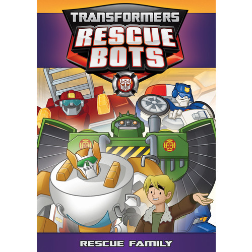 Transformers Rescue Bots - Rescue Family [DVD]