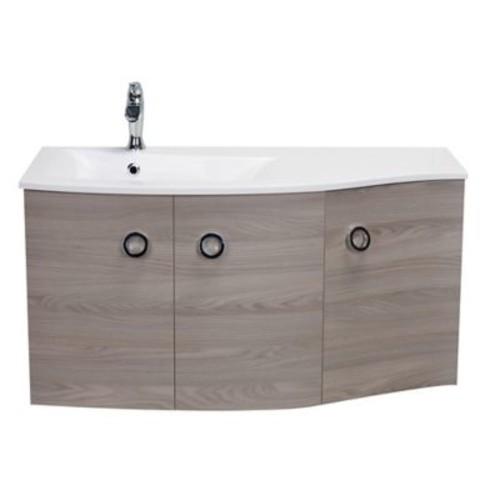 Orren Ellis Brookline Medium Modern 42'' Wood Single Bathroom Vanity Set