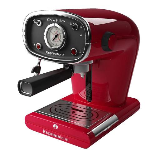 Espressione-DeLonghi of Italy New Caf Retro Espresso Machine, Red [Red]