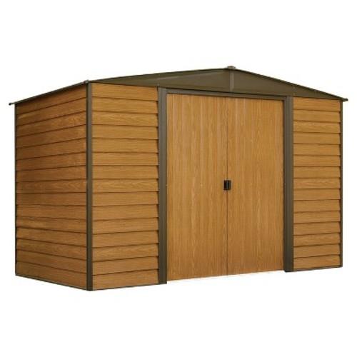 Woodridge Steel Storage Shed 10' X 6' - Arrow Storage Products