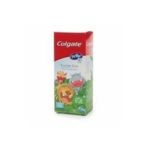 COLGATE My First Fluoride-Free Mild Fruit Toothpaste, 1.75 oz [Pack of 1]