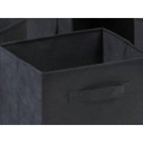Set of 6 Foldable Fabric Canvas Baskets