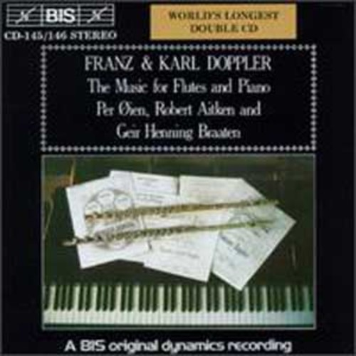 Franz & Karl Doppler: The Music for Flutes and Piano (Audio CD)