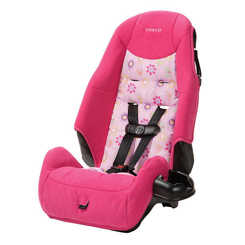 Cosco High Back Booster Car Seat - Pollyana