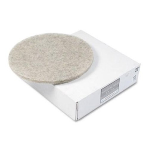 Premier 4020NHE Natural Hair Extra High-speed Floor Pads, Natural, 20
