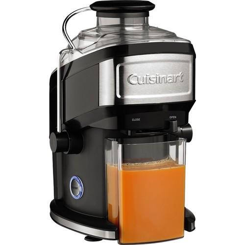 Cuisinart - Compact Juice Extractor - Black/Stainless-Steel