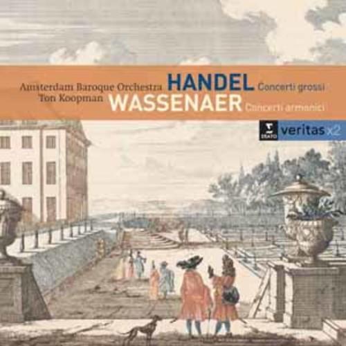 Concerti Grossi Op 6 Nos Handel / Amsterdam Baroq