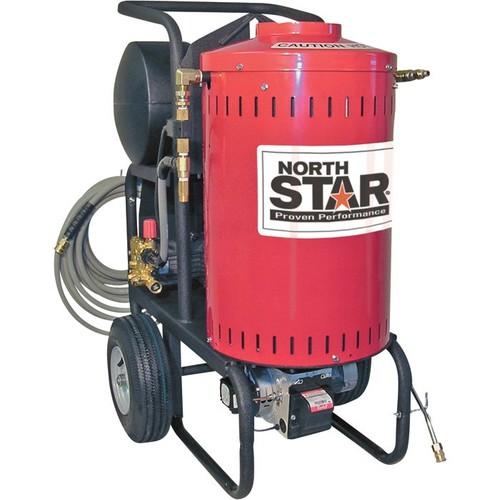 NorthStar Electric Wet Steam & Hot Water Pressure Washer  1700 PSI, 1.5 GPM, 115 Volt