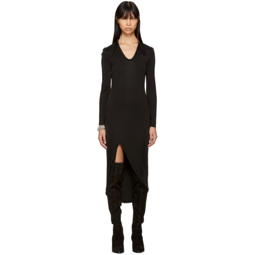 ALEXANDER WANG Black Beaded Dress