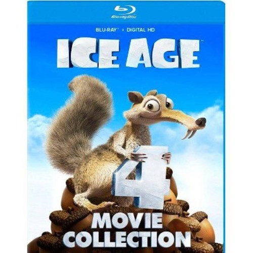 Ice Age 4 Movie Collection (DVD)