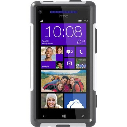 OtterBox Commuter Series Case for HTC Windows Phone 8X, Glacier 77-24082