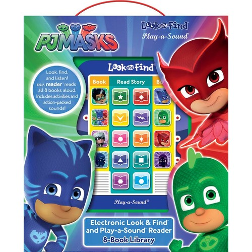 PJ Masks 8 Board Books Electronic Look and Find Box Set