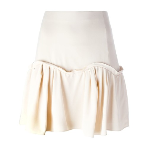 CHLOÉ Pleated Hem A-Line Skirt
