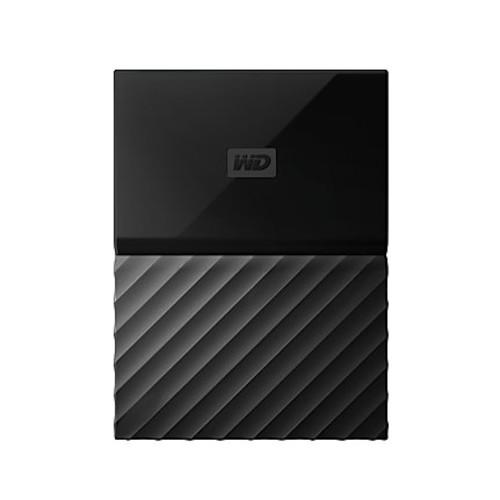 WD My Passport For Mac 4TB External Hard Drive, Classic Black