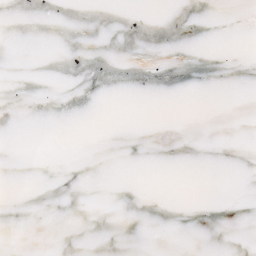 Calacatta Verde White Marble 18-inch Square Honed Beveled Tiles