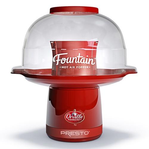 Presto Fountain Hot Air Popcorn Popper