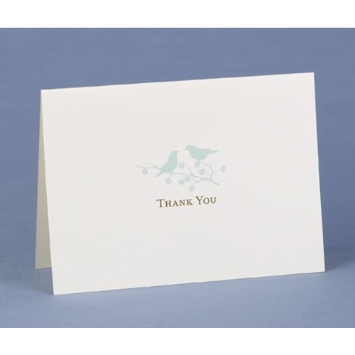 Hortense B. Hewitt Wedding Accessories Thank You Note Cards, Harmony, Pack of 50 [Harmony]