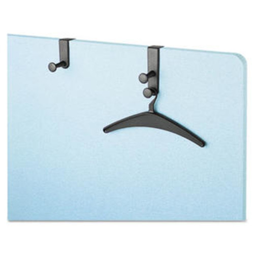 Quartet Mfg. 20701 One-Post Over-The-Panel Hook with Garment Hanger, 1 1/2