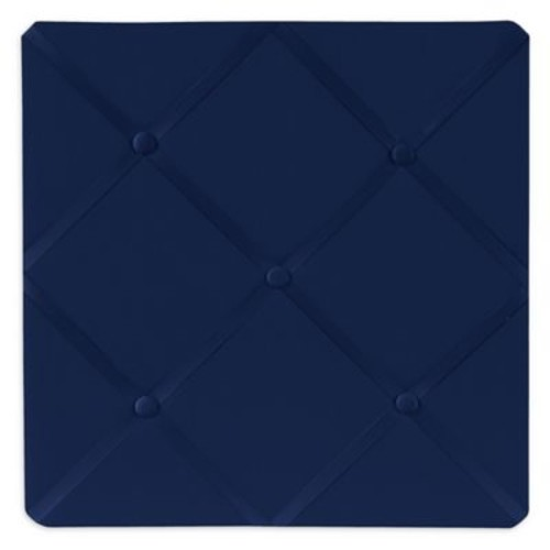 Sweet Jojo Designs Fabric Memo Board in Navy