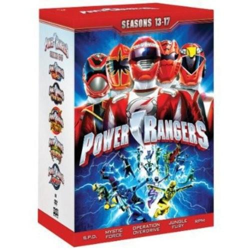 Power Rangers:Seasons 13-17 (Full Frame)