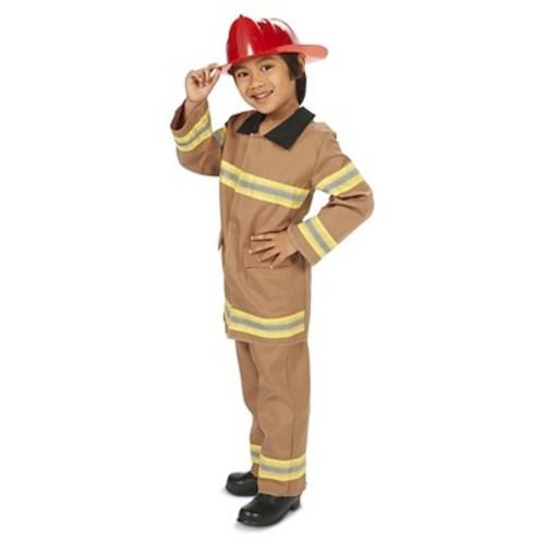Kids Little Firefighter with Helmet Costume
