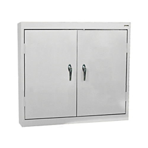 Sandusky Solid-Door Wall Cabinet, Dove Gray