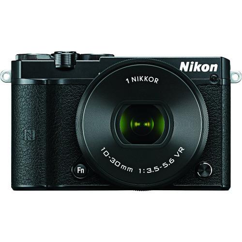 Nikon 1 J5 Mirrorless with NIKKOR 10-30mm f/3.5-5.6 VR Lens, Black 27707