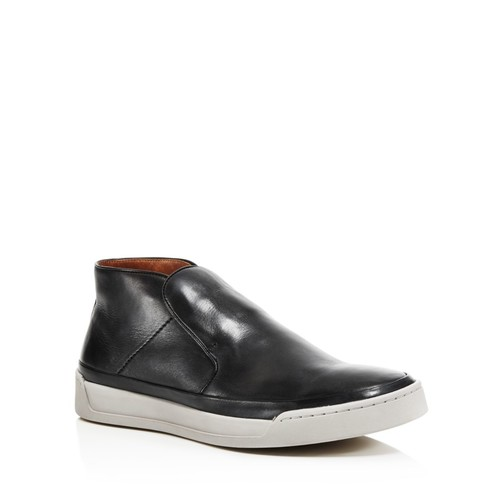 Men's Remy Leather Slip-On Sneakers