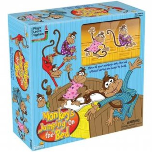 University Games UG-01318 Five Little Monkeys Jumping On The Bed Game