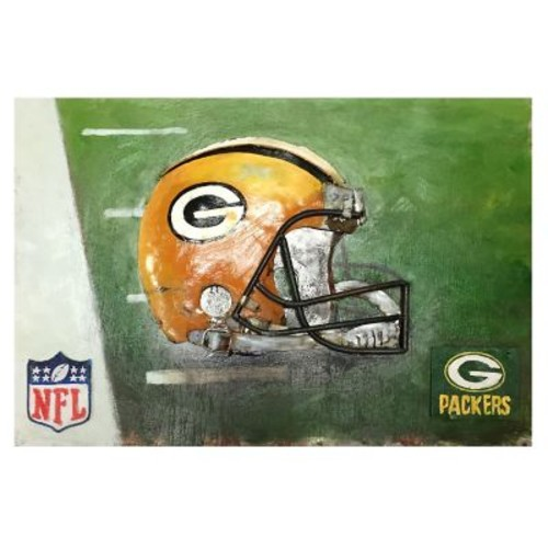 Imperial NFL Metal Painting; Green Bay Packers