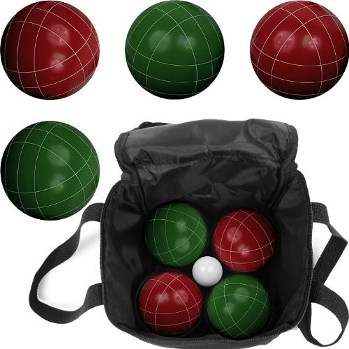 USA Wholesaler - 80-751214 - Trademark Games Full Size Premium Bocce Set with Easy Carry