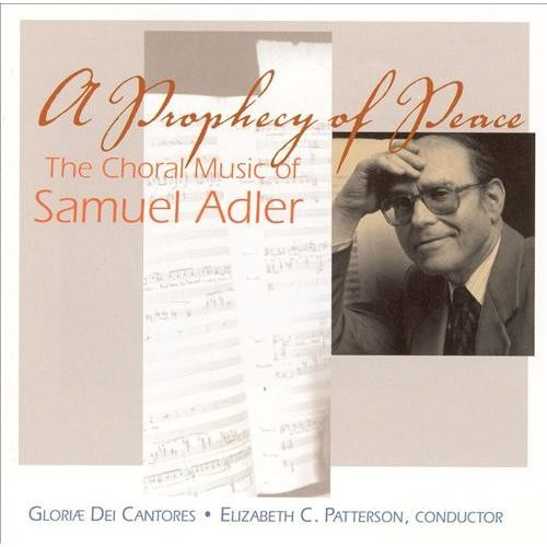 Prophecy Of Peace: choral Music CD (2010)