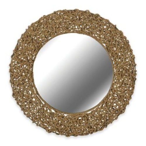 Kenroy Home 33-Inch Seagrass Mirror in Natural
