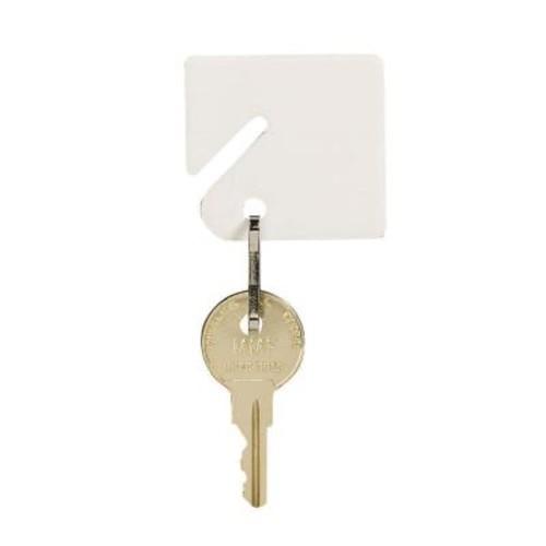 STEELMASTER Slotted Rack Key Tags Plain (20-Pack)