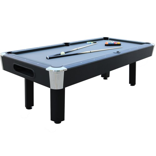 Sportcraft Bay Shore 8' Gray Billiard Table with Table Tennis Top
