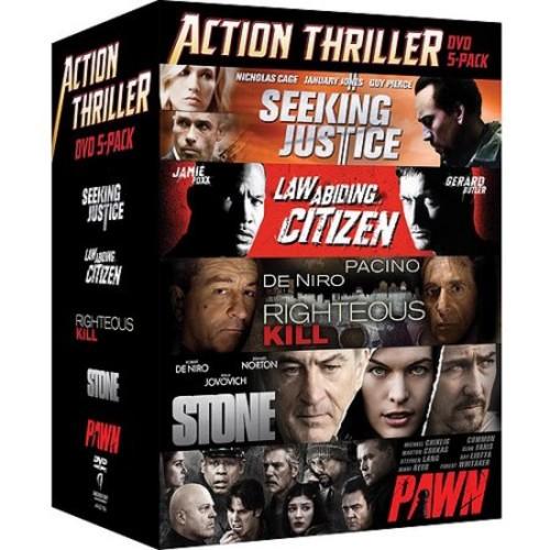 Action Thriller DVD 5-Pack