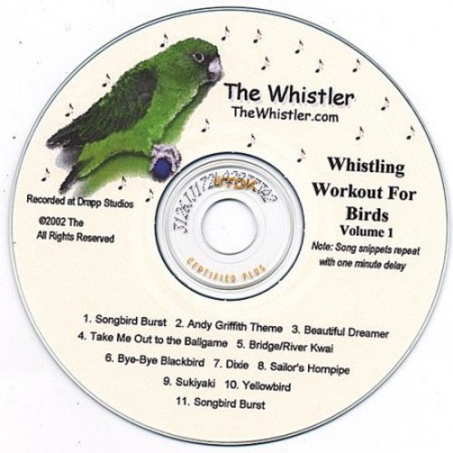 The Whistler's Whistling Workout for Birds, Vol. 1 [CD]