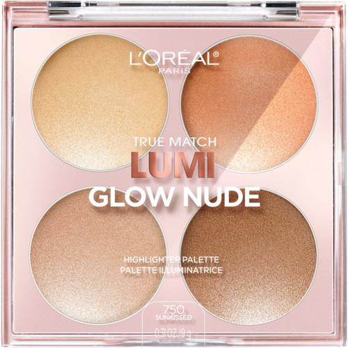 True Match Lumi Glow Nude Highlighter Palette [Sunkissed]