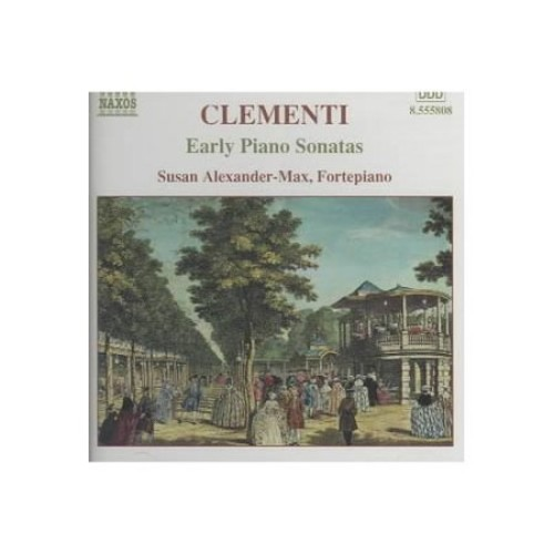 Clementi: early Piano Sonatas CD (2003)