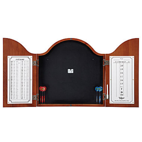 Viper Cambridge Cinnamon Dartboard Cabinet