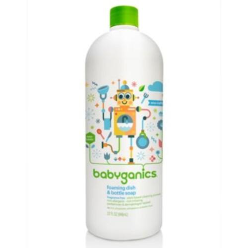 Babyganics 32 oz. Fragrance-Free Foaming Dish & Bottle Soap Refill